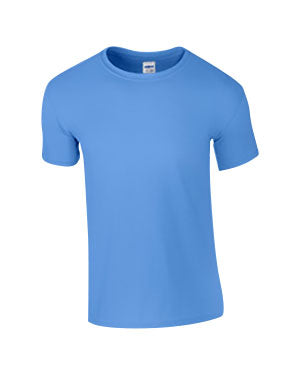 Carolina Blue Custom Gildan Soft Style T-Shirt