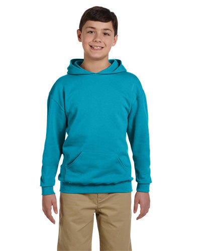 Carolina Blue Custom Jerzees Youth Hooded Sweatshirt