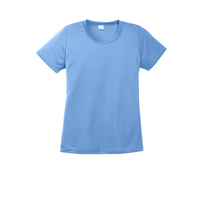 Carolina Blue Custom Ladies Dry Performance T-Shirt