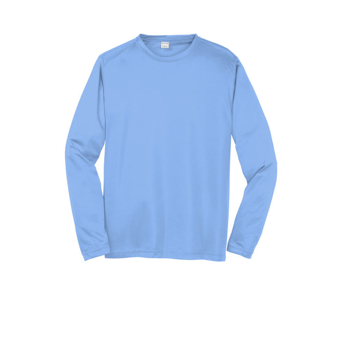 Carolina Blue Custom Long Sleeve Dry Performance T-Shirt