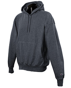 Charcoal Heather Custom Champion Heavyweight Hooded Sweatshirt
