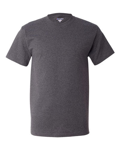 Charcoal Heather Custom Champion Short Sleeve T-Shirt