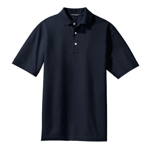 Classic Navy Rapid Dry Polo With Logo