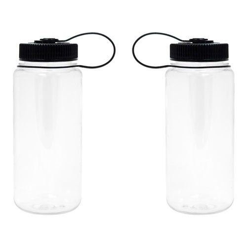 Clear Custom Nalgene 16oz Wide Mouth Bottle