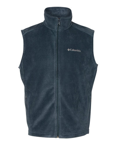 Collegiate Navy Custom Columbia Steens Mountain Fleece Vest