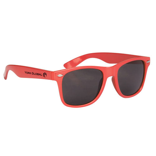 Coral Custom Malibu Sunglasses