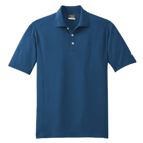 Court BLue Nike Dri-FIT Golf Shirt With Logo