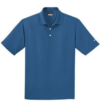 Court Blue Nike Tall Dri-FIT Micro Pique Polo With Logo