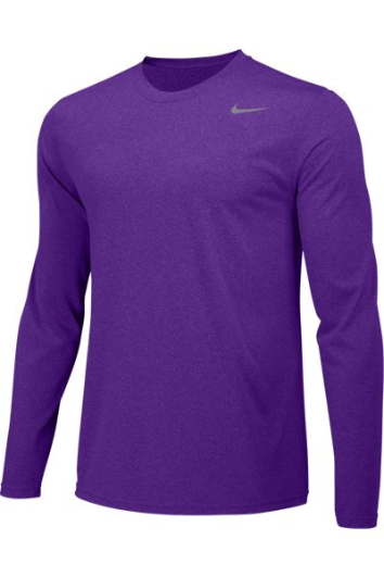 Court People Custom Nike Dri-FIT Long Sleeve T-Shirt