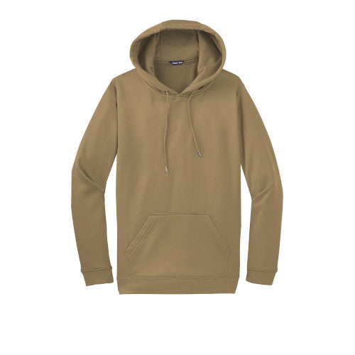 Coyote Brown Custom Dry Performance Hoodie Sweatshirt