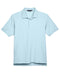 Crystal Blue Devon & Jones Pima Pique Polo With Logo