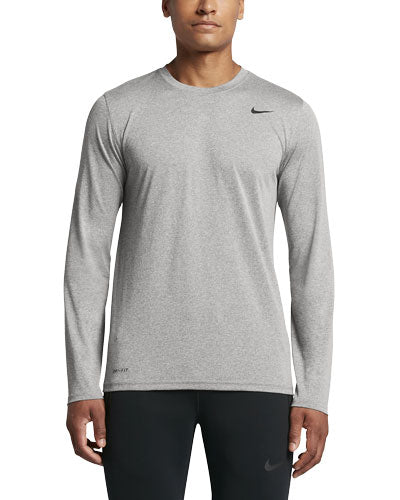 Custom Nike Dri-FIT Long Sleeve T-Shirt with logo