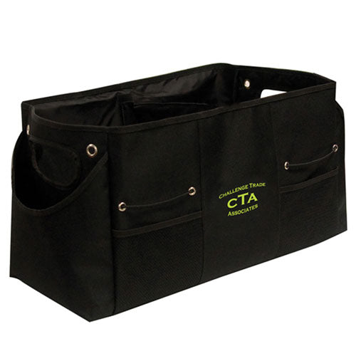 Black Custom Trunk Organizer