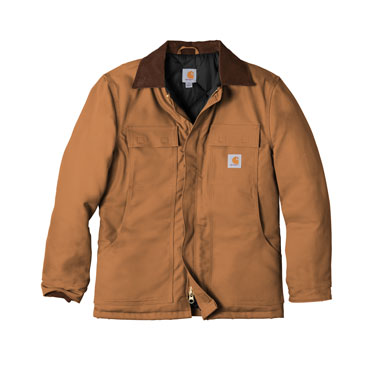Carhartt Brown Custom Carhartt Duck Coat Jacket