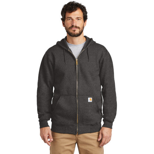 Custom Carhartt Midweight Hooded Zip - Front Sweatshirt