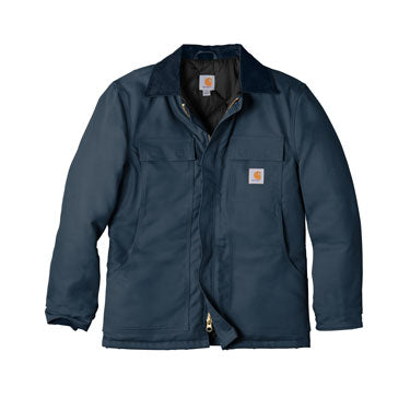 Dark Navy Custom Carhartt Duck Coat Jacket