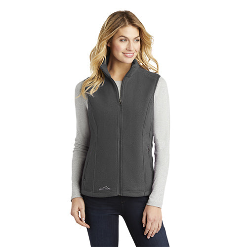 Custom Eddie Bauer Ladies Fleece Vest