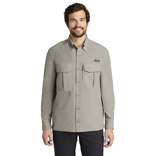 Custom Eddie Bauer Long Sleeve Performance Fishing Shirt