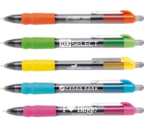 Custom MaxGlide Tropical Pens with logos