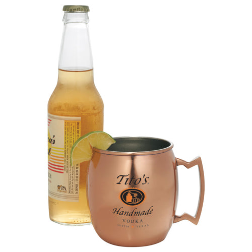 Custom Moscow Mule Mug with logo