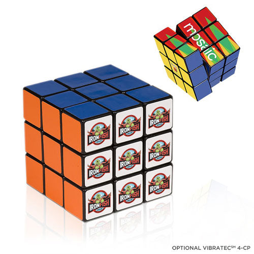 Custom Rubik's Cube with logo