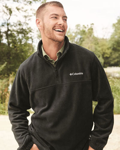 Custom Columbia Steens Mountain Fleece Quarter-Zip Pullover