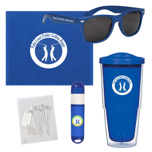 Custom Towel Tumbler Golf Set