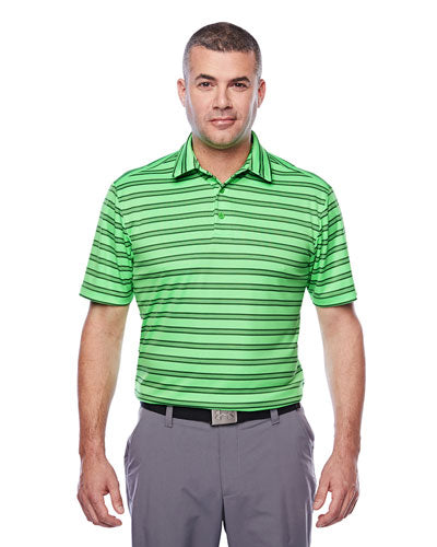 Custom Under Armour Tech Stripe Polo with logo