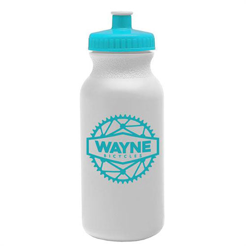 Cyan Custom USA Made Water Bottle