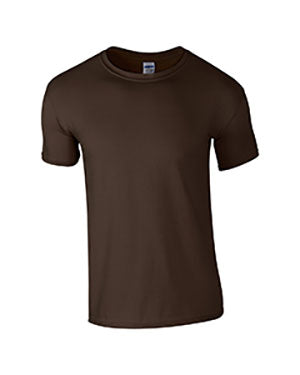 Dark Chocolate Custom Gildan Soft Style T-Shirt