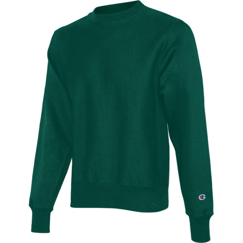 Dark Green Custom Champion Heavyweight Sweatshirt