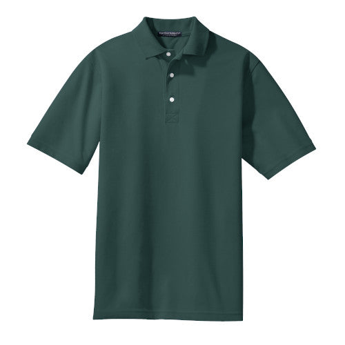 Dark Green Rapid Dry Polo With Logo