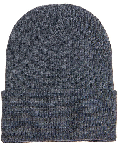 Dark Grey Custom Yupoong Knit Cap