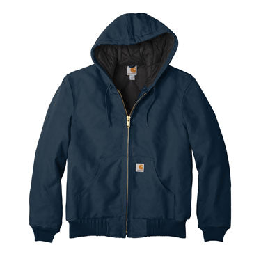 Dark Navy Custom Carhartt Flannel Lined Jacket