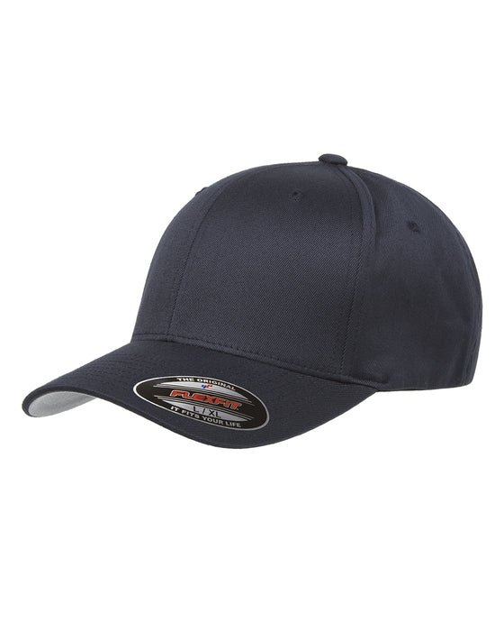Dark Navy Custom Yupoong Flexfit Cap Hat