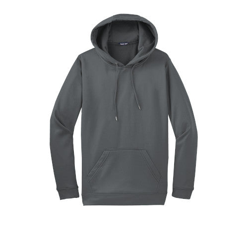 Dark Smoke Grey Custom Dry Performance Hoodie Sweatshirt