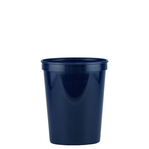 Dark Blue Custom Stadium Cup 16oz