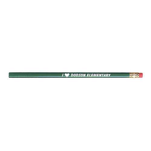 Dark Green Custom Bargain Buy Pencil