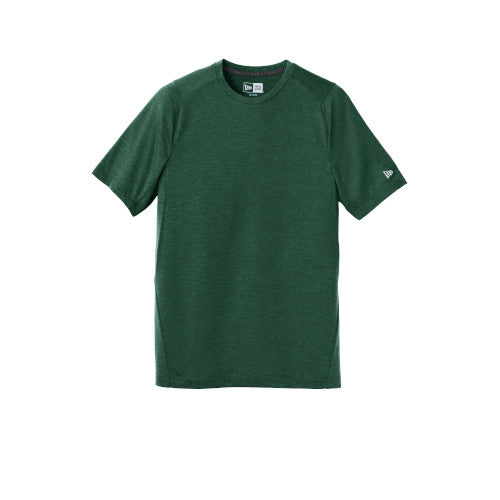 Dark Green Custom New Era Series Performance Crew Tee