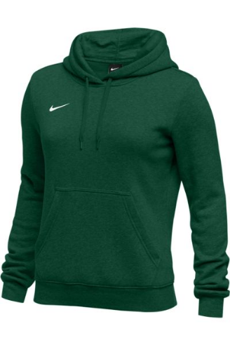 Dark Green Nike Ladies Hoodie