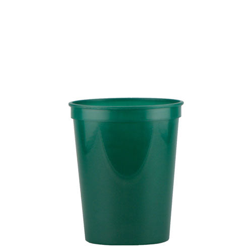 Dark Green Custom Stadium Cup 16oz