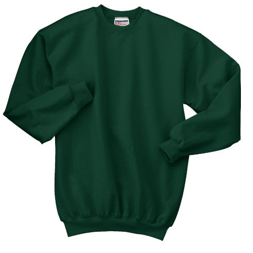 Deep Forest Custom Hanes Crewneck Sweatshirt