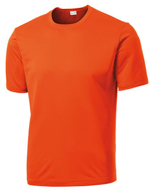 Deep Orange Custom Dry Performance T-Shirt