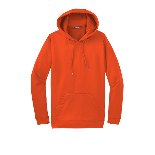 Deep Orange Custom Dry Performance Hoodie Sweatshirt
