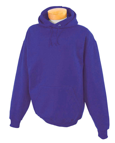 Deep Purple Custom Jerzees Youth Hooded Sweatshirt