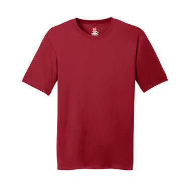 Deep Red Custom Hanes Cool DRI Performance T-Shirt