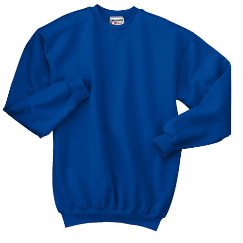 Deep Royal Custom Hanes Crewneck Sweatshirt