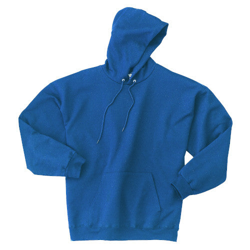 Deep Royal Custom Hanes Hooded Sweatshirt
