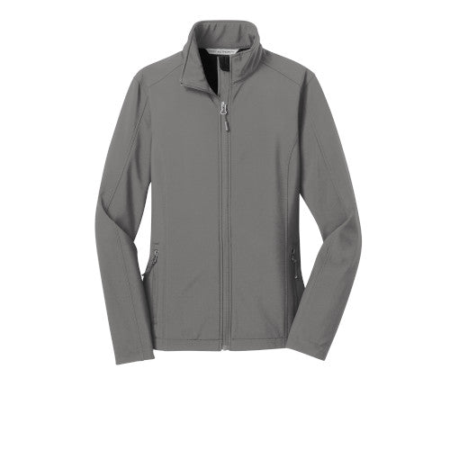 Deep Smoke Custom Ladies Soft Shell Jacket