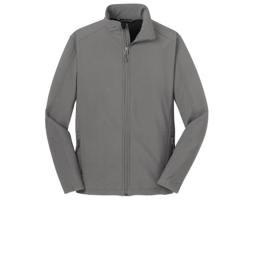 Deep Smoke Custom Men's Soft Shell Jacket